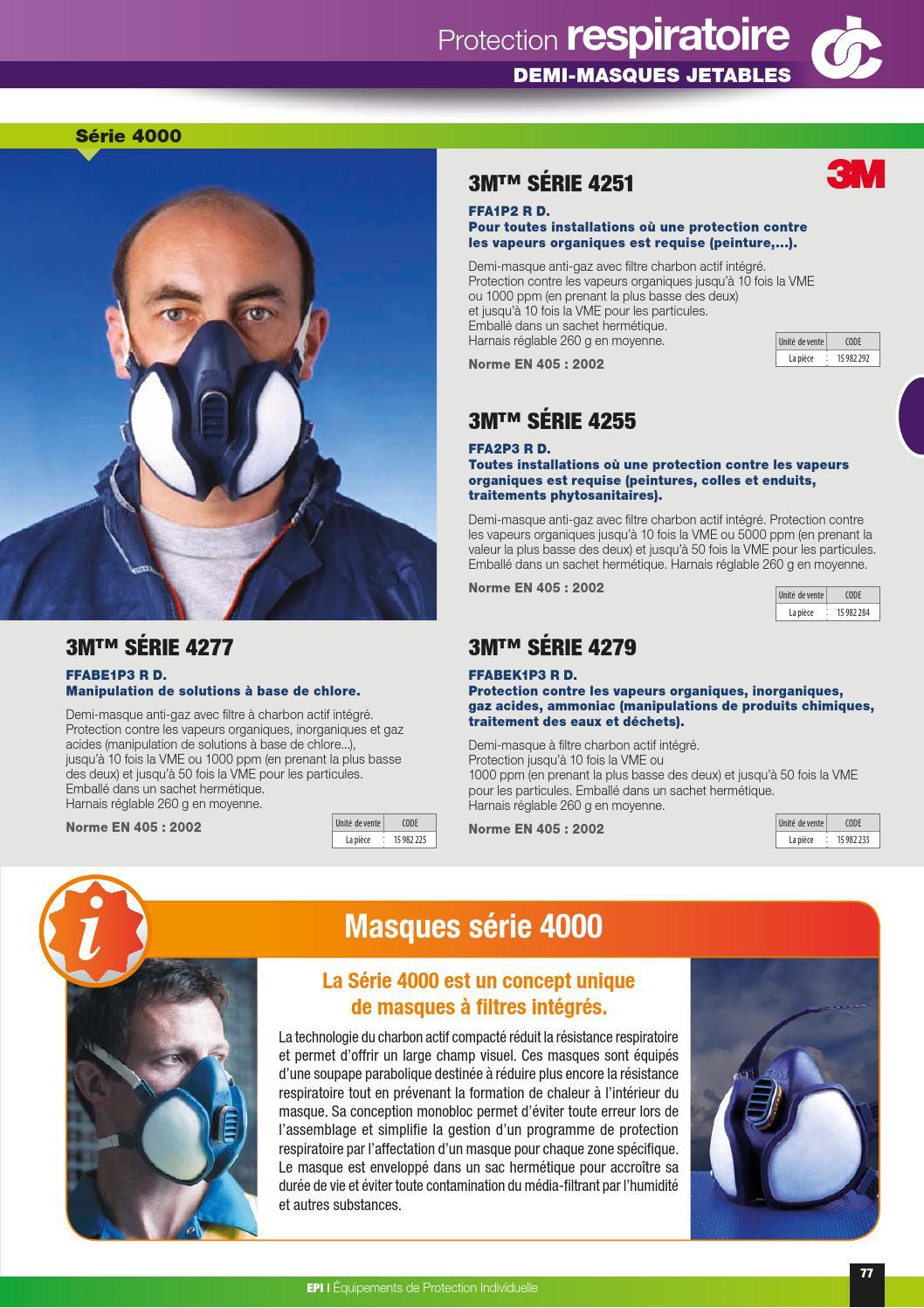 masque 3m 4000