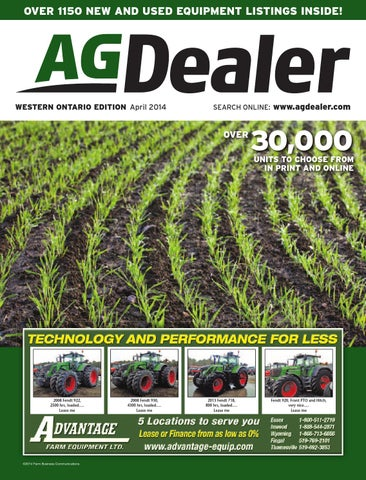 006bb4a3349 AGDealer Western Ontario Edition, April 2014 by Farm Business ...