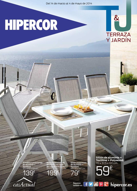 Hipercor terraza y jardin by losdescuentos issuu - Hipercor mesas jardin ...