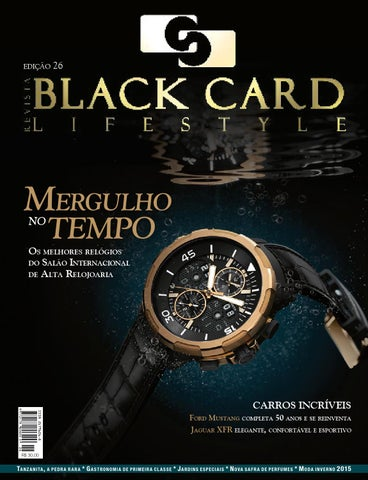 50b1388e18b Revista Black Card Lifestyle - Edição 26 by Revista BlackCard ...