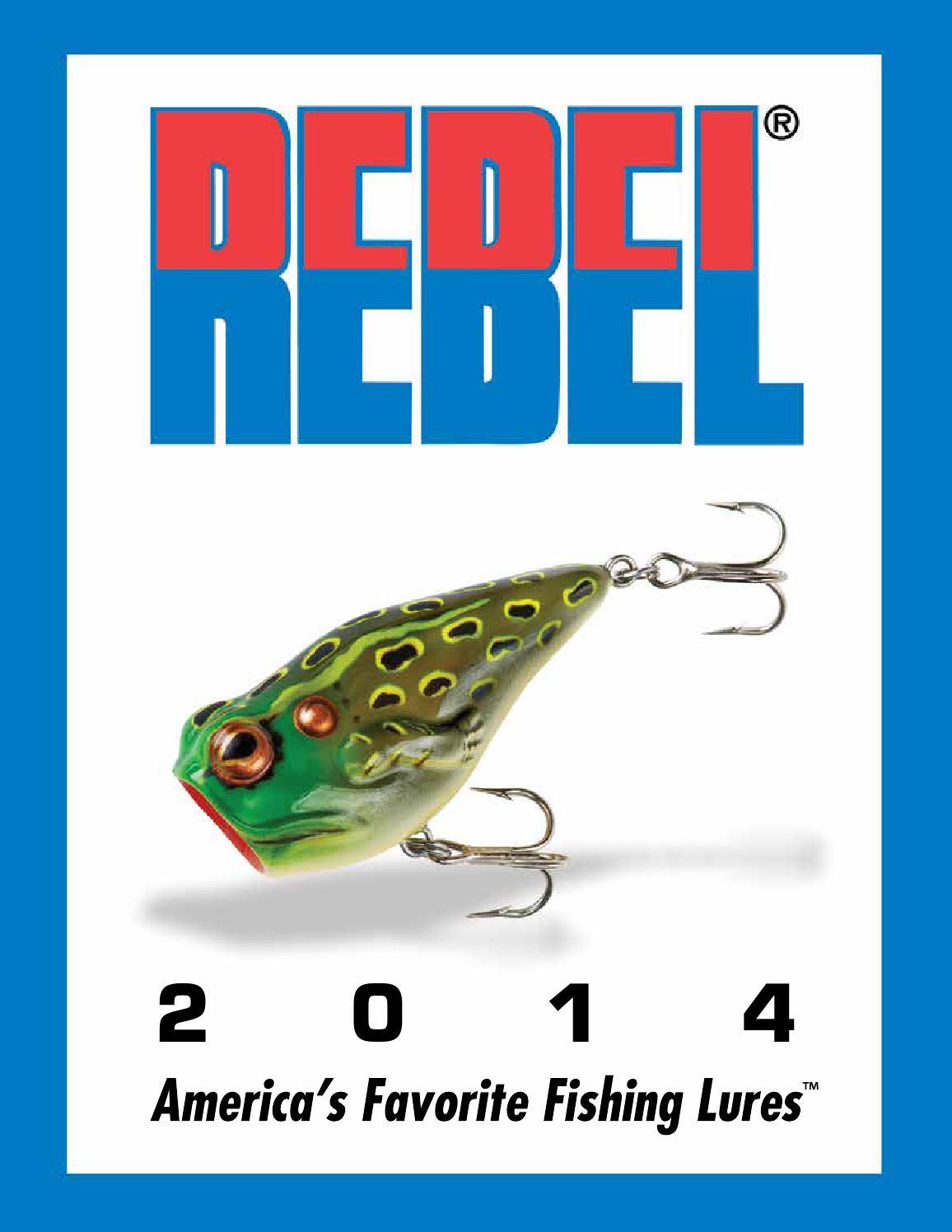 Tennessee Shad Rebel Super Teeny Wee-R 1//8 oz Fishing Lure