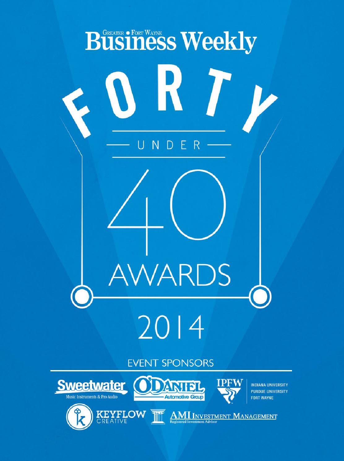 Forty Under 40 By Kpc Media Group Issuu