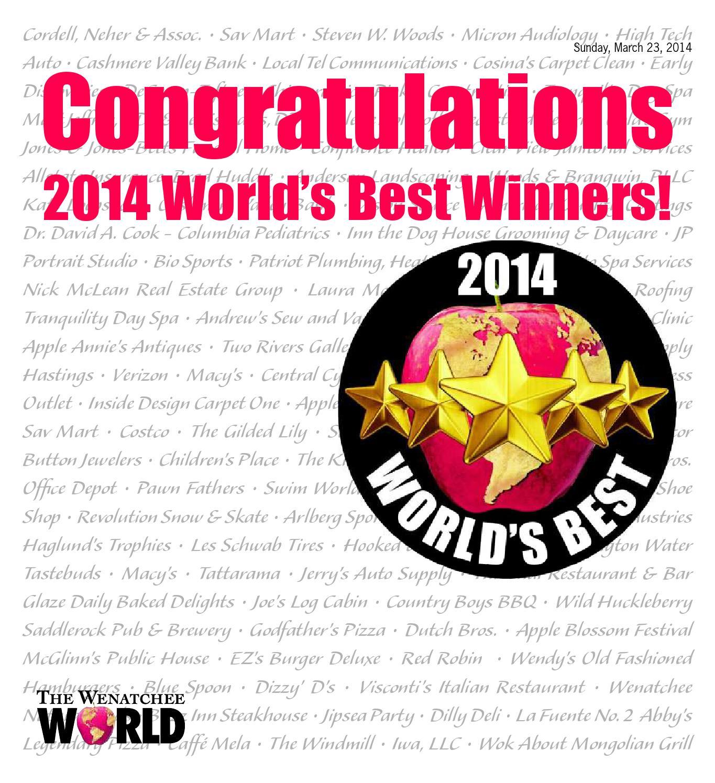 2014 World S Best Winners By The Wenatchee World Issuu