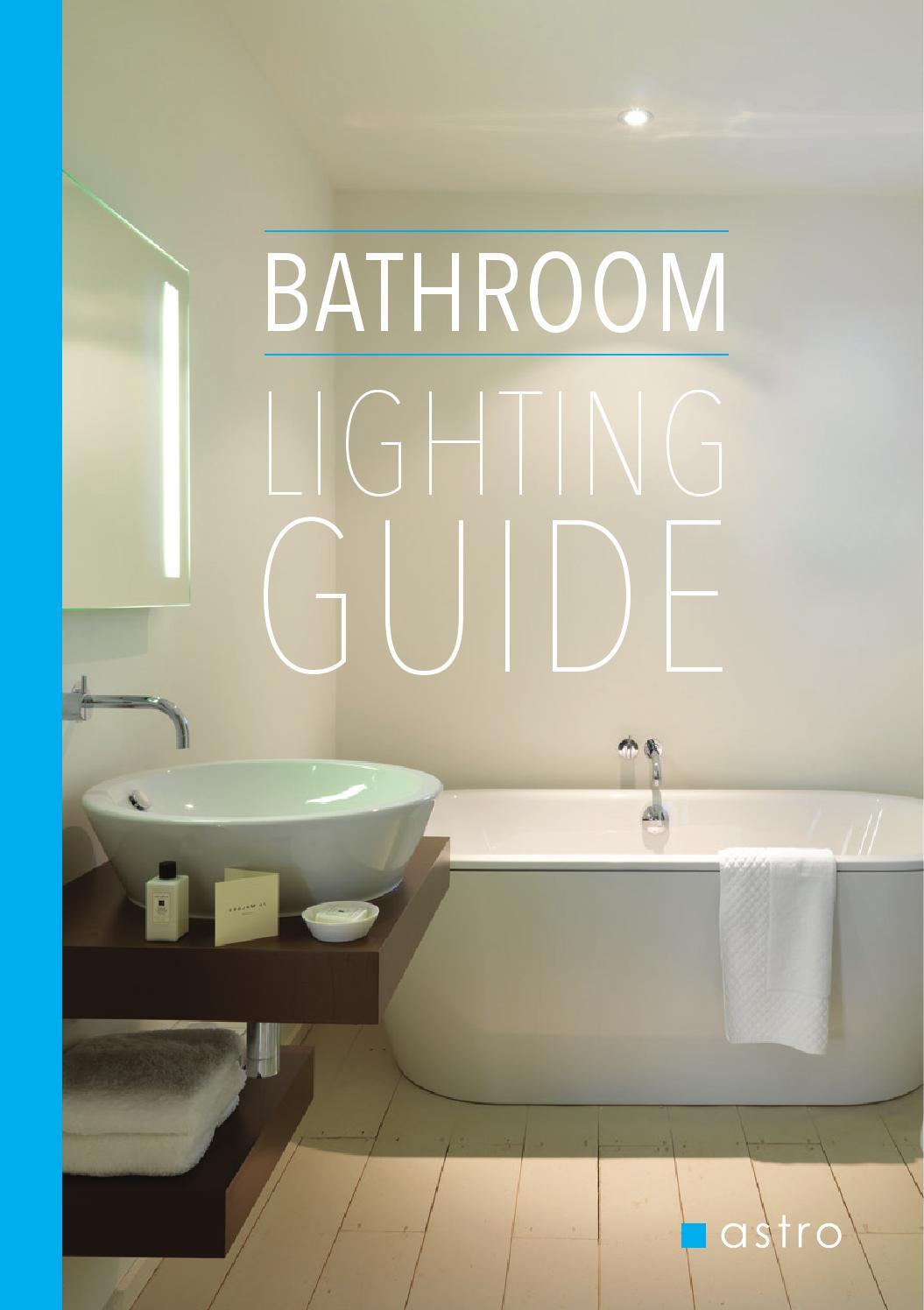astro bathroom lighting guide by astro lighting issuu