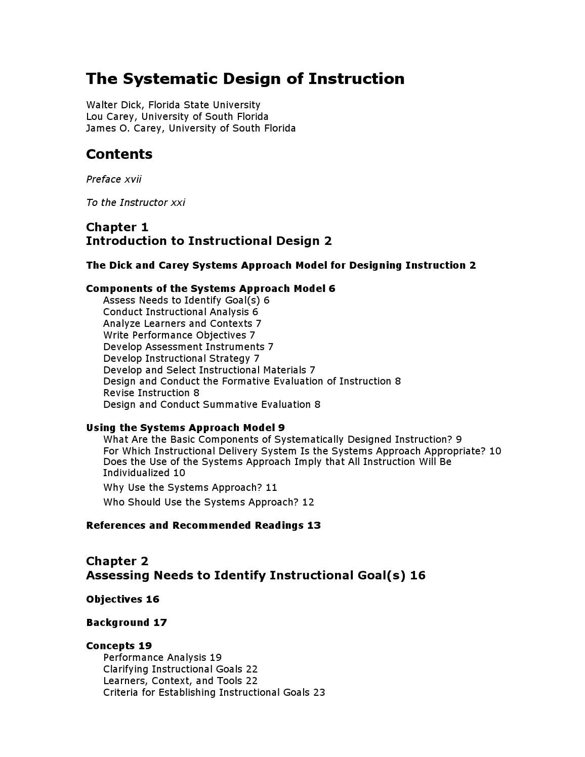Lectura 2 The Systematic Design Of Instruction By Universidad Da Vinci Issuu