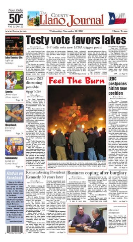 march 9, 2012 alice echo news journal by mauricio cuellar issuunovember 20 llano county journal