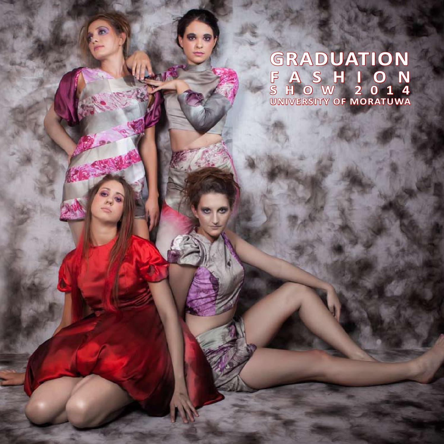 Graduation Fashion Show 2014 Brochure By Sumith Gopura Issuu