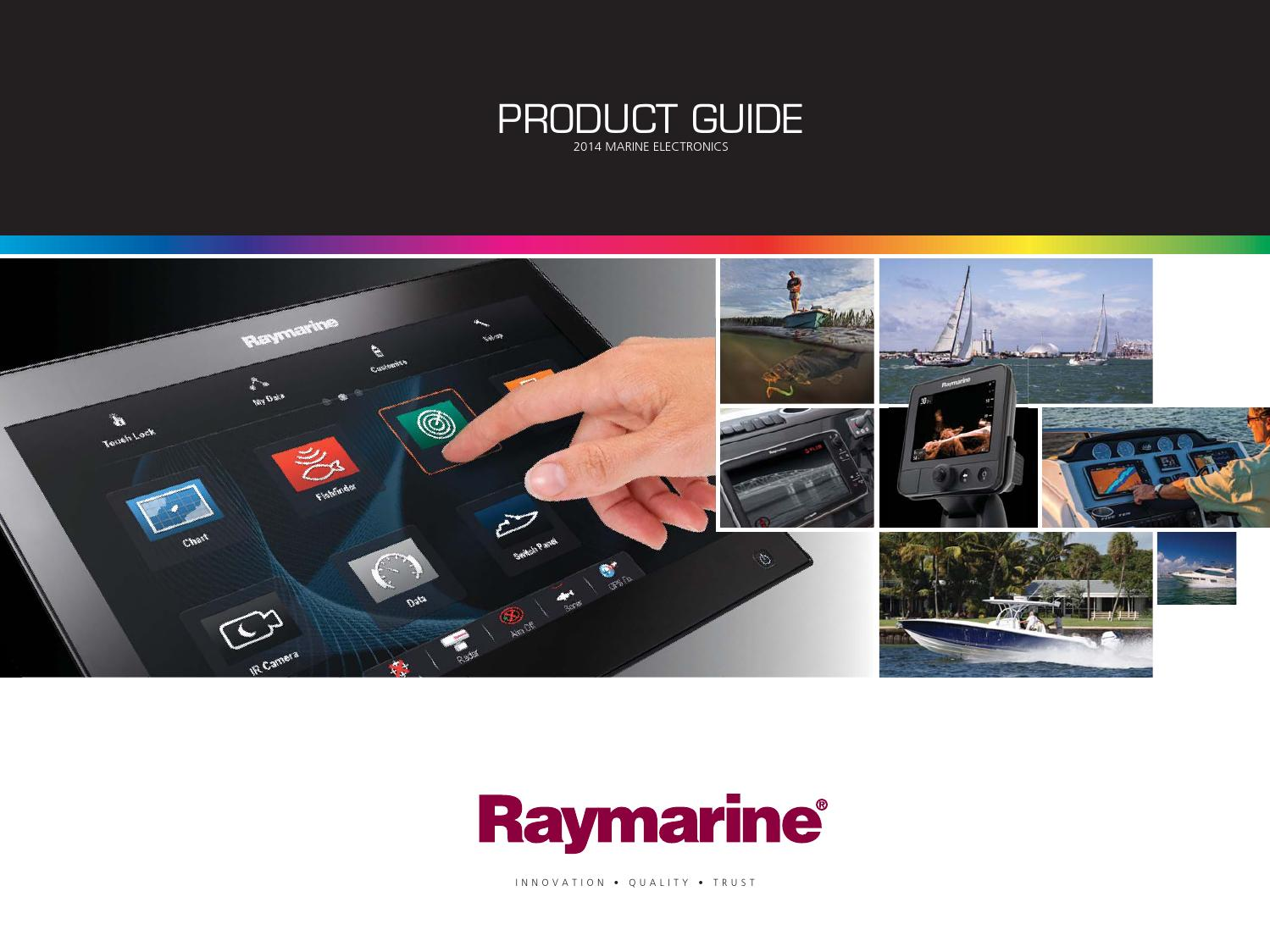 Raymarine Transom Mount Mounting Bracket specifically for CPT-60 Boat Marine