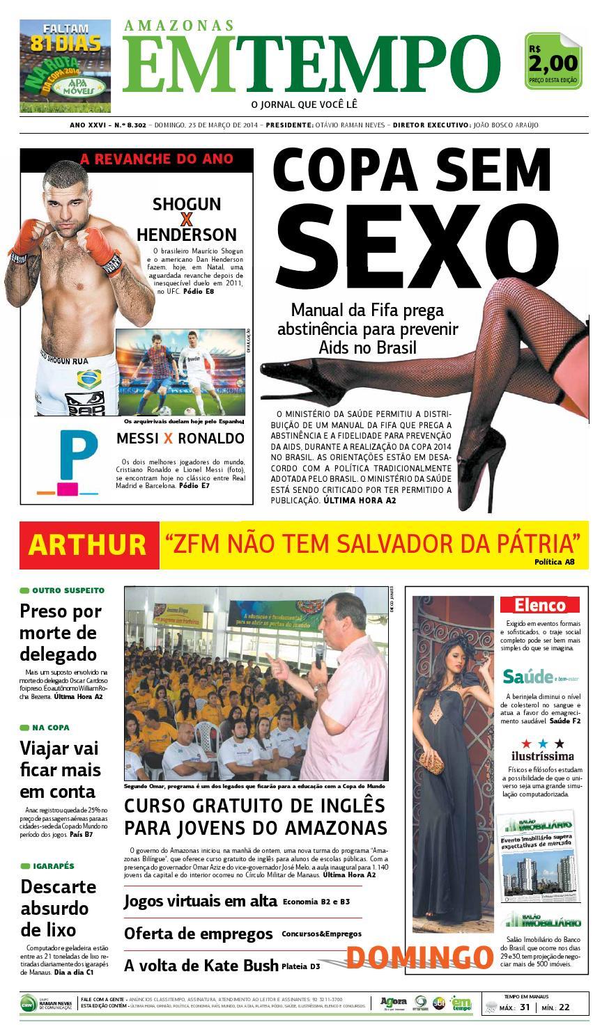 EM TEMPO - 23 de março de 2014 by Amazonas Em Tempo - issuu