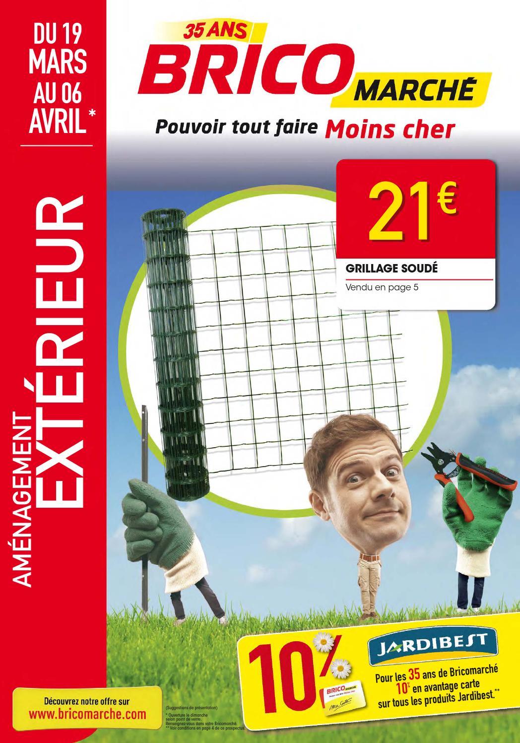 Catalogue bricomarch by joe monroe issuu - Granules de bois bricomarche ...