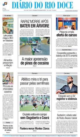 Diário do Rio Doce - Edição 23 03 2014 by Diário do Rio Doce - issuu 88d63b0433