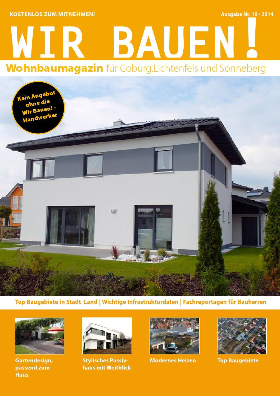 Wir Bauen! Magazin - Ausgabe 10 by Heiko Bayerlieb - issuu