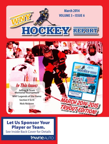 WNY Hockey Report March 2014 by WNY Hockey Report - issuu