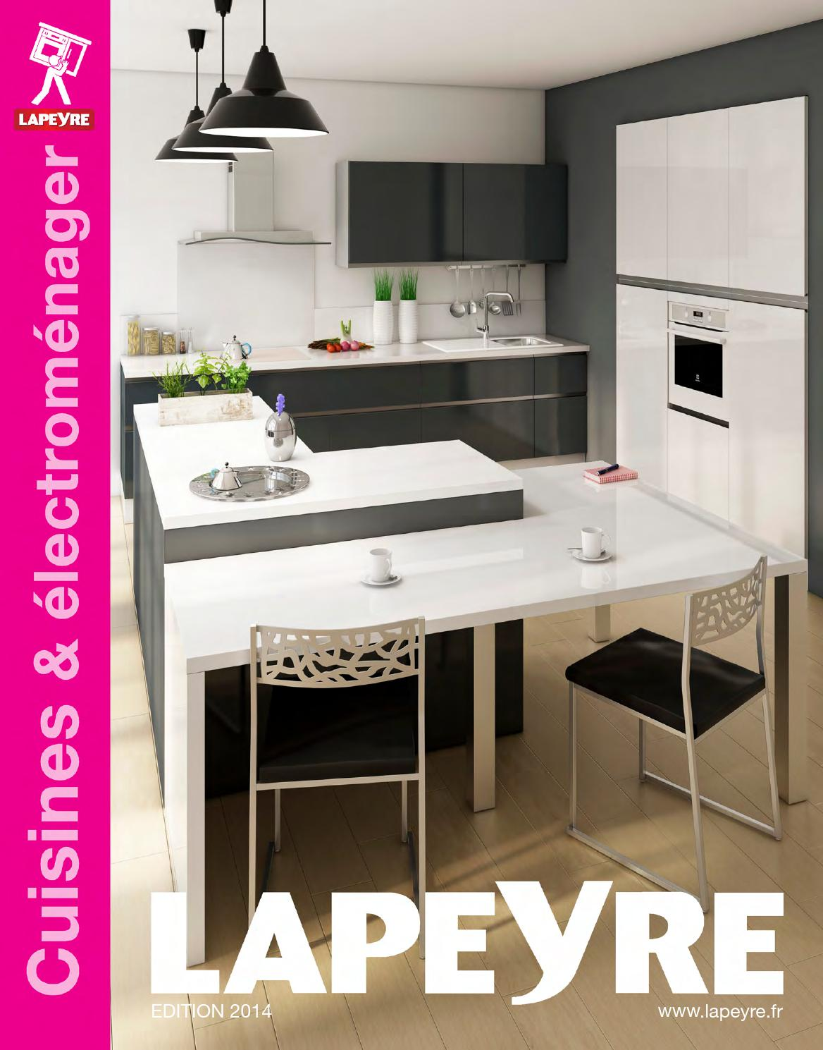 Catalogue Lapeyre Cuisines Electromenager 2014 By Joe Monroe