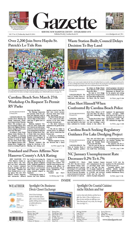 March 19 2014 Island Gazette by Island Gazette Newspaper - issuu