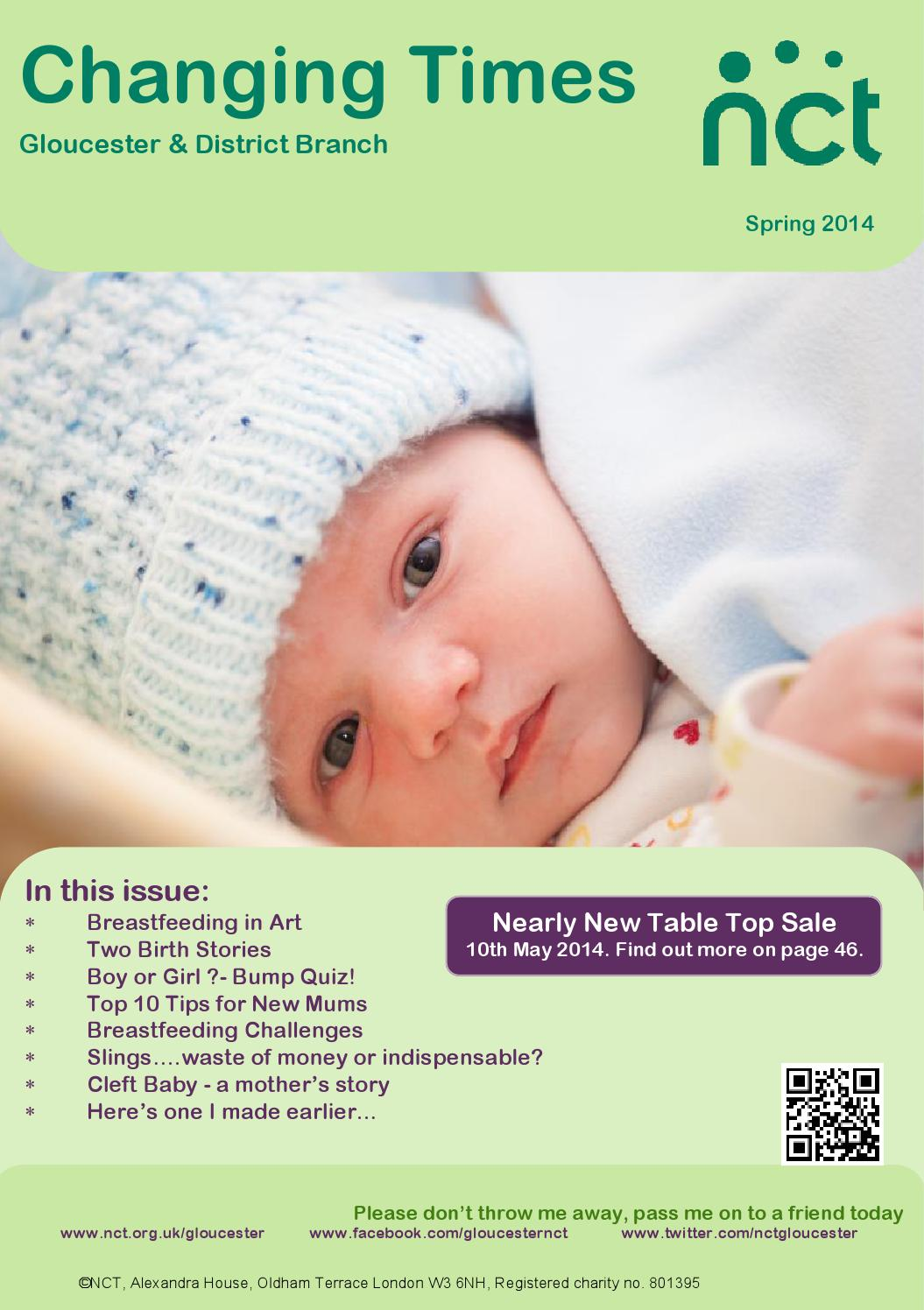 NCT Gloucester - Changing Times - Spring 2014 by Tina G - issuu