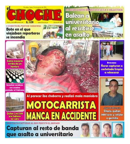 8781875a705 El choche 24 de marzo de 2014 by Diario El Choche - issuu