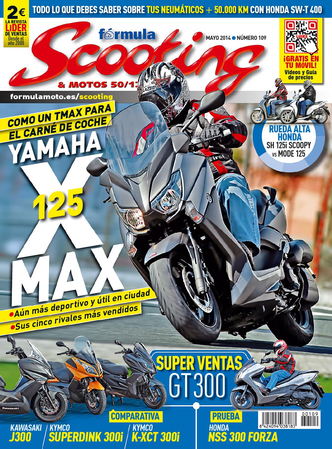 Destacado Scooting Nº 109. Abril-mayo 2014 by LIDER - issuu