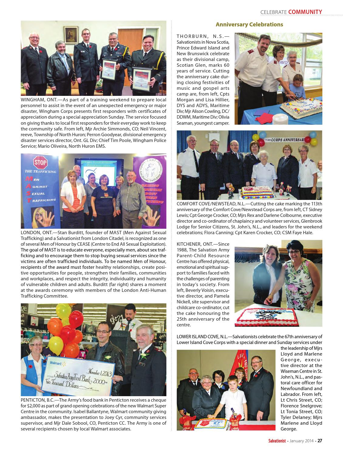 Salvationist - January 2014 by The Salvation Army - issuu