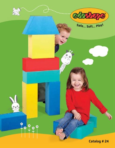 26 Piece 826026 Edushape Mini Edu-Blocks Flexible Blocks