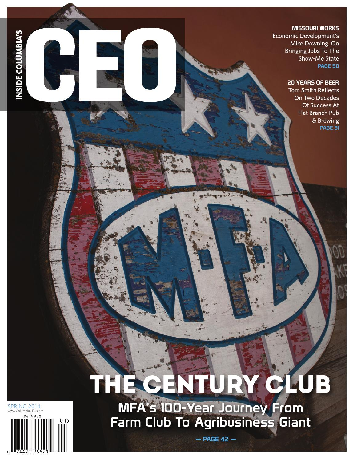 Inside Columbia's CEO Spring 2014 by Inside Columbia's CEO