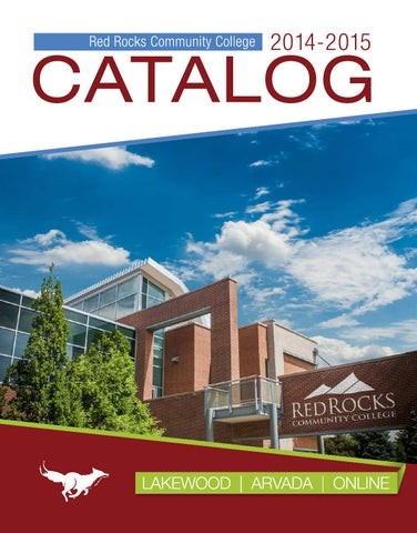 2014 2015 catalog by red rocks community college issuu page 1 fandeluxe Choice Image