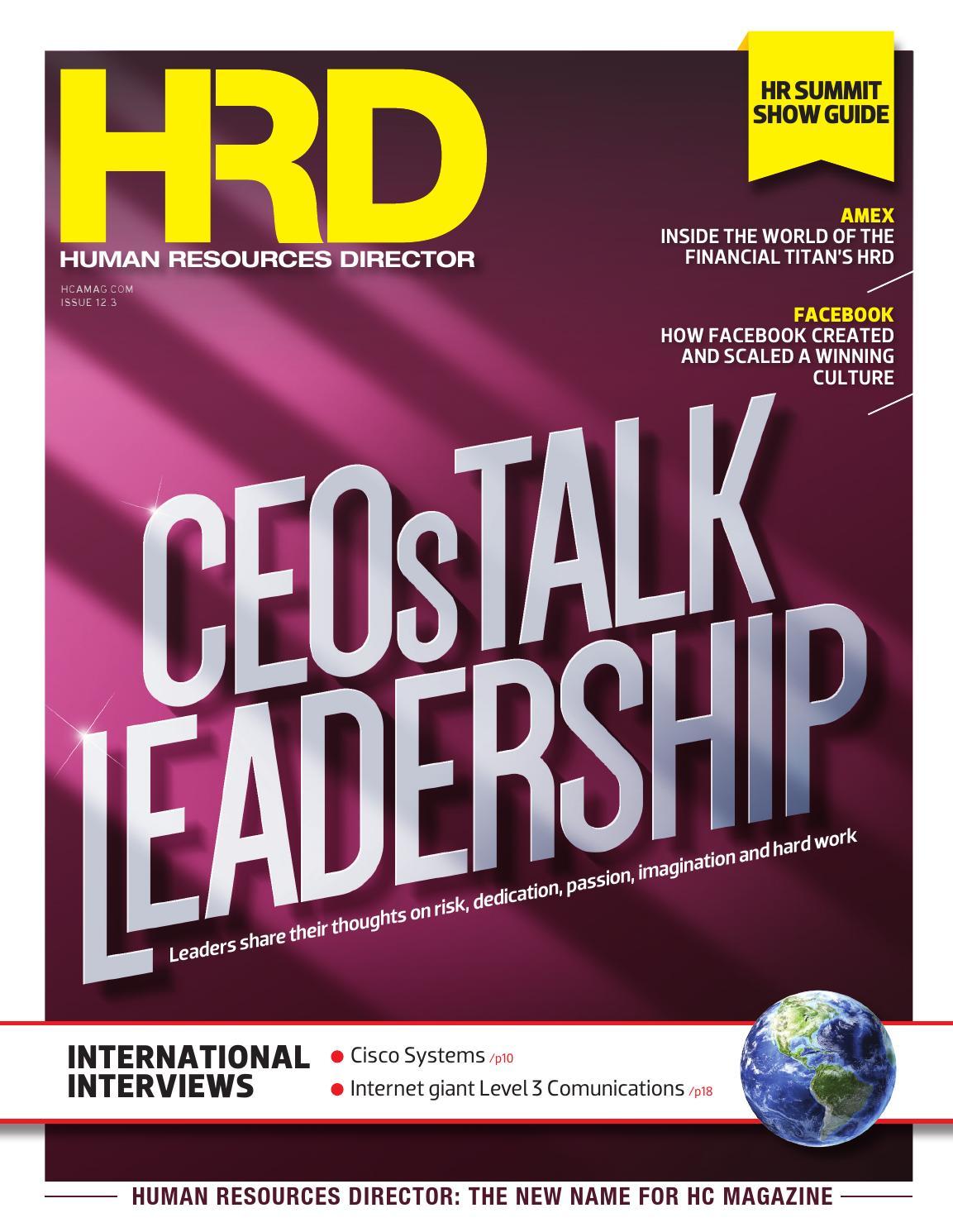 Human Resources Director 12 03 by Key Media - issuu