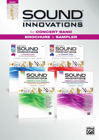 Sound Innovations Australia For Concert Band By Devirra Music Issuu