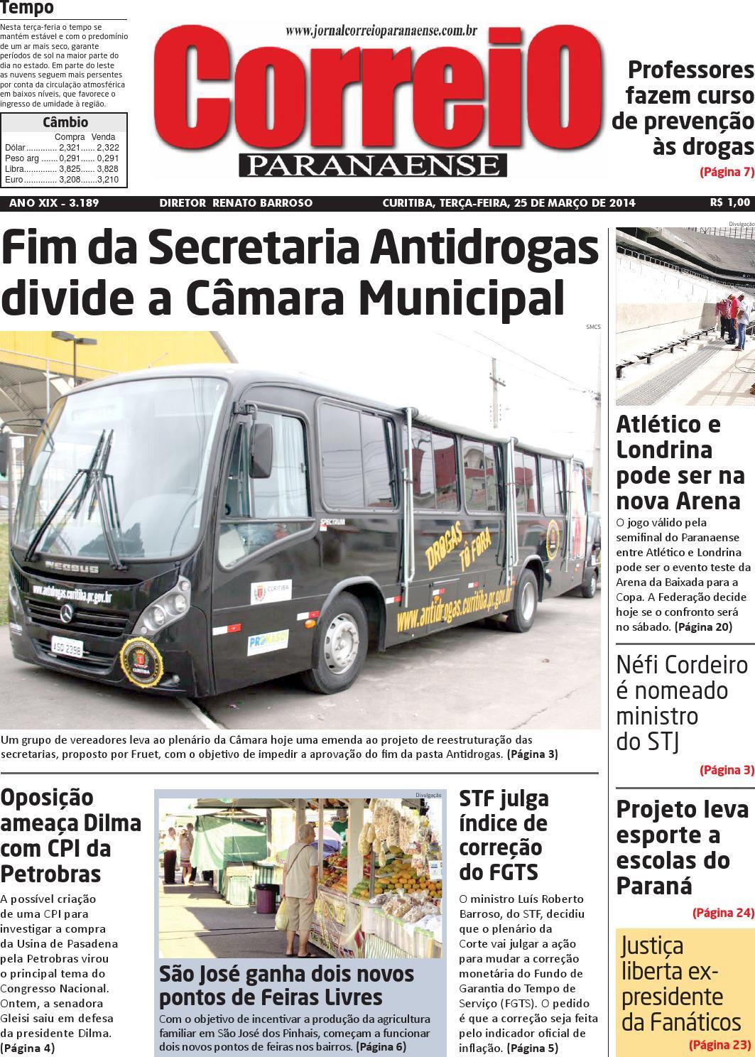 Correio Paranaense - Edição 25 03 2014 by Editora Correio Paranaense - issuu fafea7be74adb