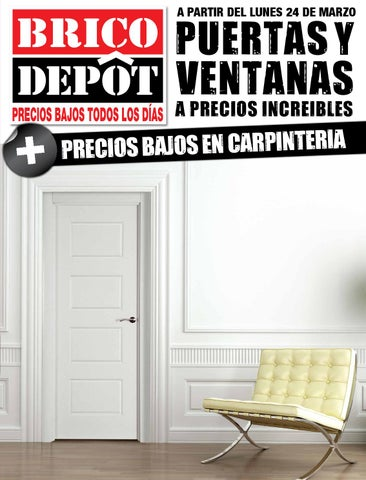 Bricodepot catalogue 24marzo 24abril2014 by for Puertas interior brico depot