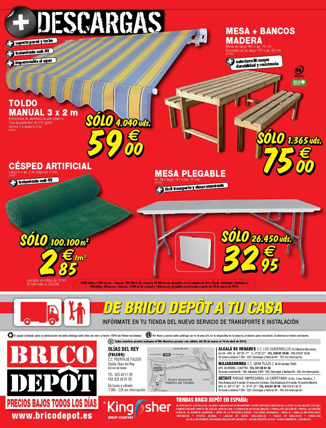 28marzo Catalogue 10abril2014 By Bricodepot yYmf7gIvb6