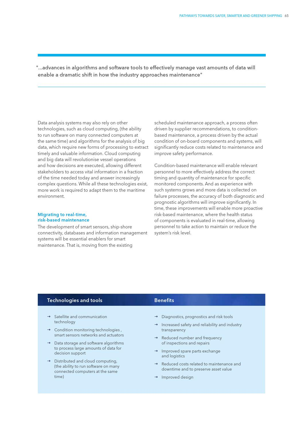 DNV GL: The Future of Shipping by DNV GL - issuu