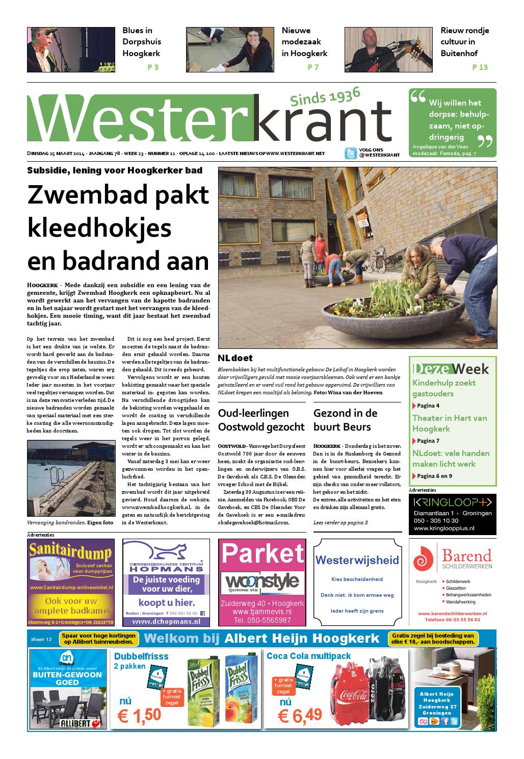 westerkrant week 1413 lr by westermare uitgeverij issuu