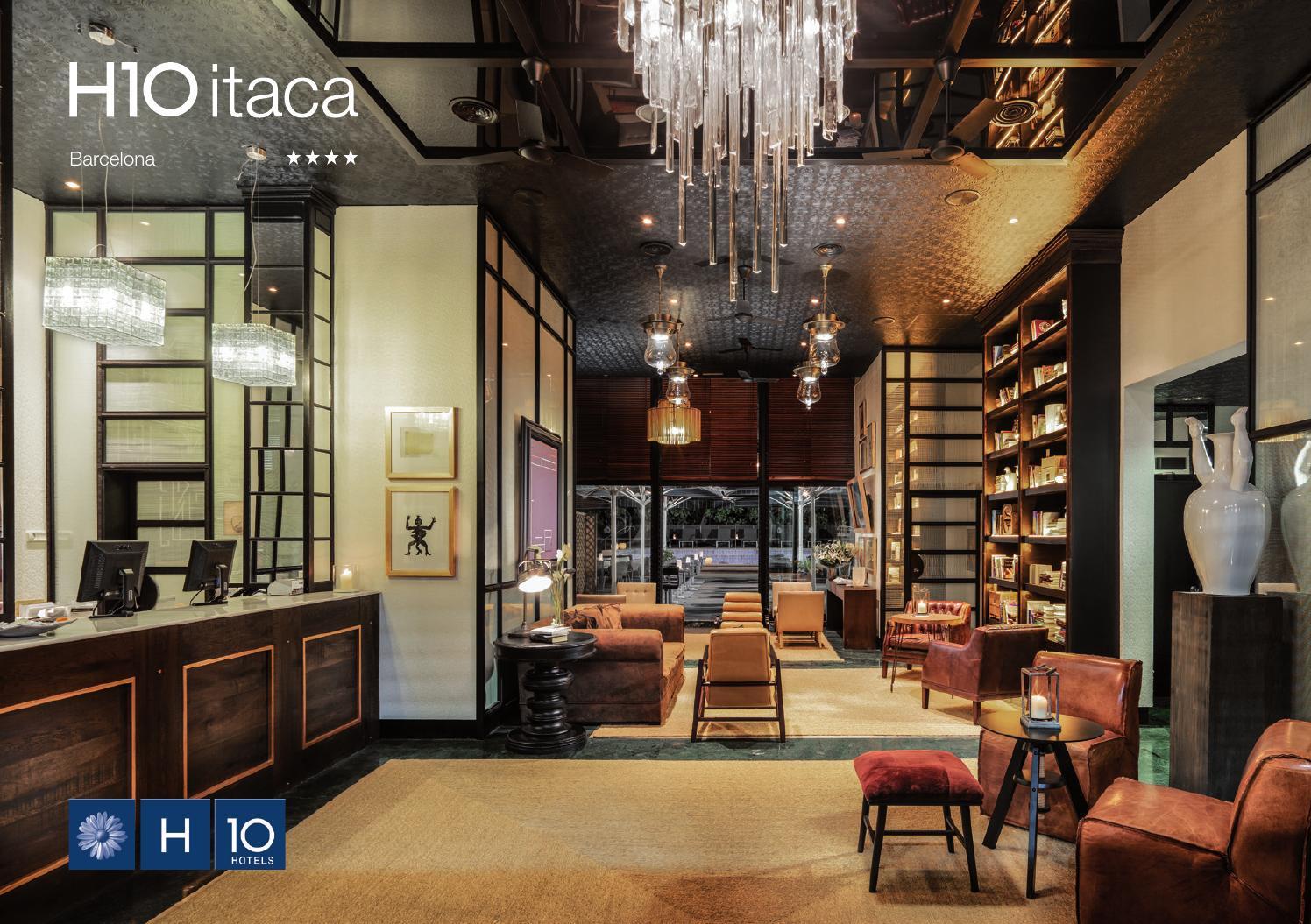 H10 itaca by h10 hotels issuu for Hotel el jardi barcelona