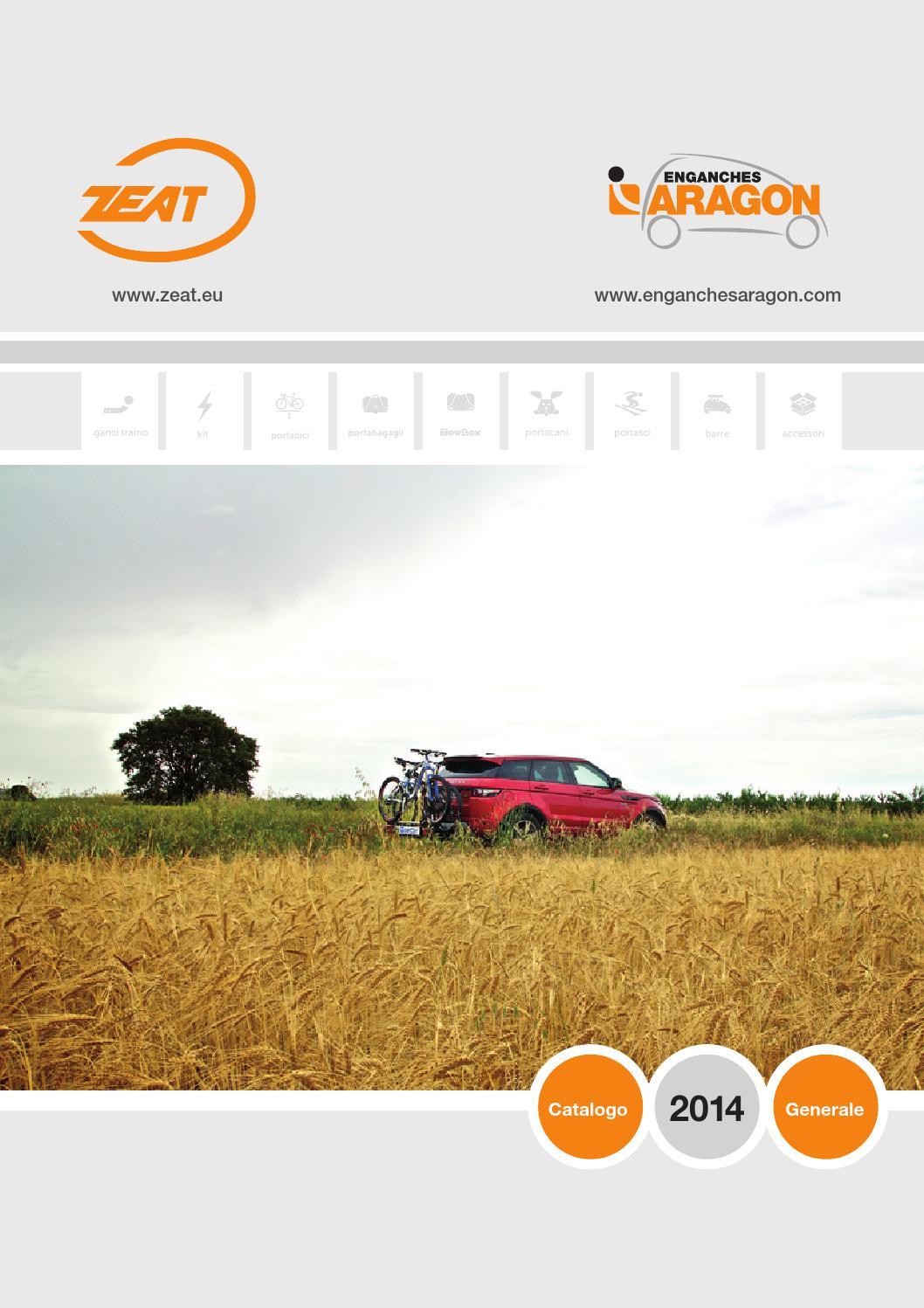 kit elettrico universale 7poli Gancio traino fisso FIAT 500L dal 2012