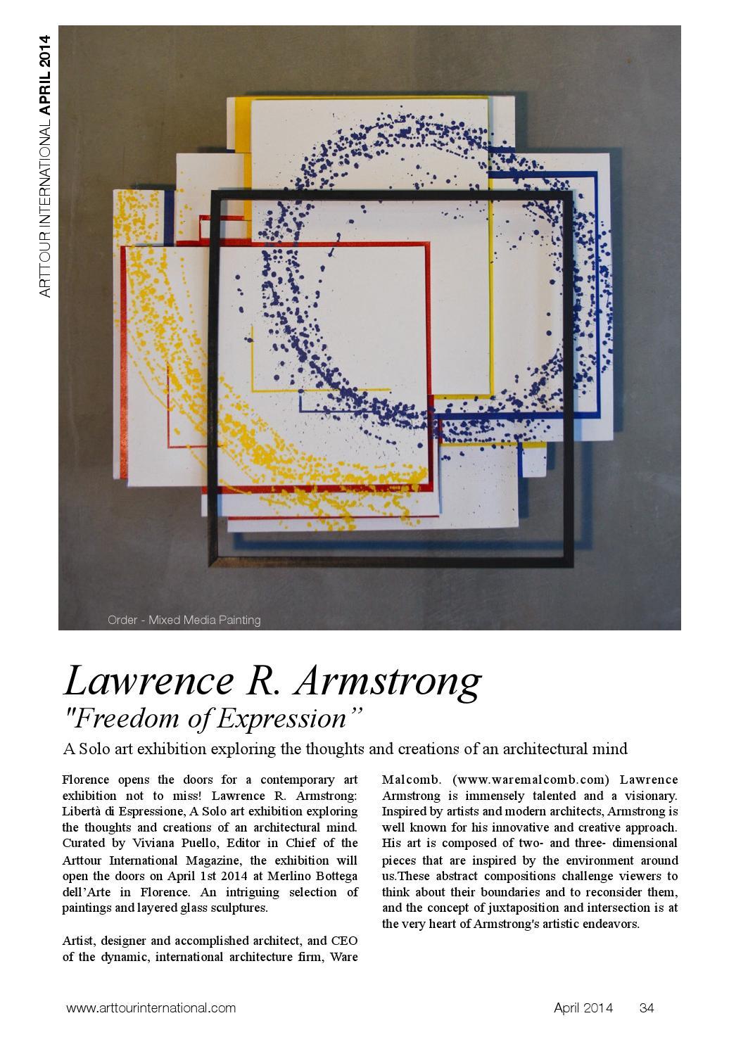 Merlino Bottega D Arte arttour international magazine april 2014 by arttour