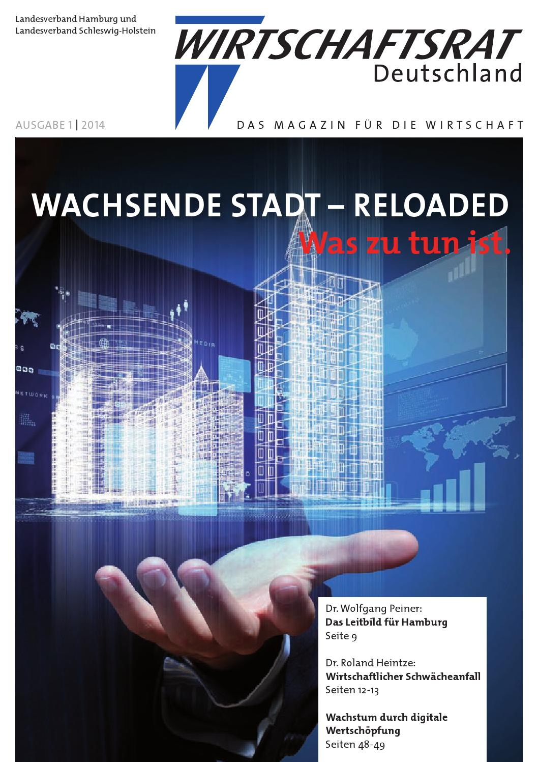 Wirtschaftsrat Journal der Landesverbände Hamburg und Schleswig ...