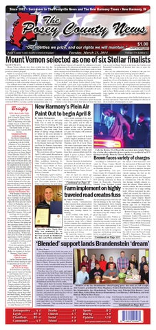 march 25 2014 the posey county news by the posey county news issuu rh issuu com
