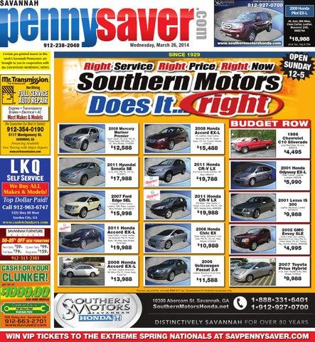 Savannah pennysaver 032614 by savannah pennysaver issuu page 1 fandeluxe Images