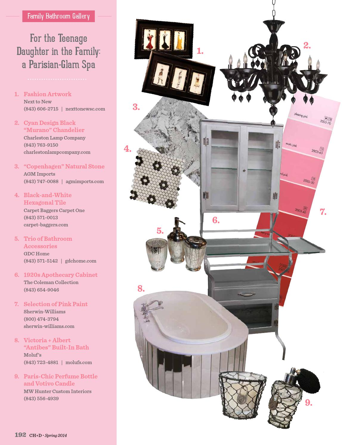 Charleston home design magazine spring 2014 by charleston home and design magazine issuu for Charleston home and design magazine