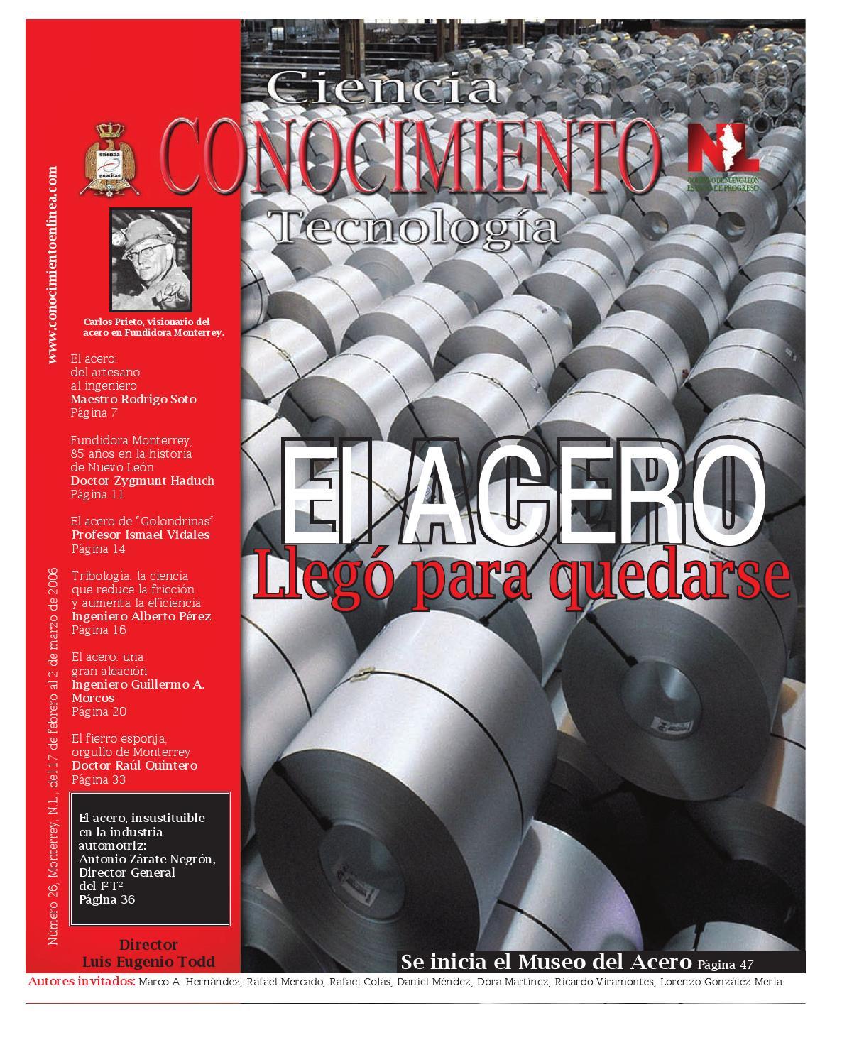 Revista Conocimiento 26 by Rodrigo Soto Moreno - issuu