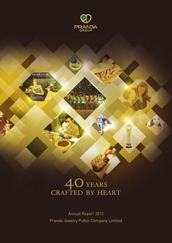 Pranda Annual Report 2013 By Orapan Kokong Issuu