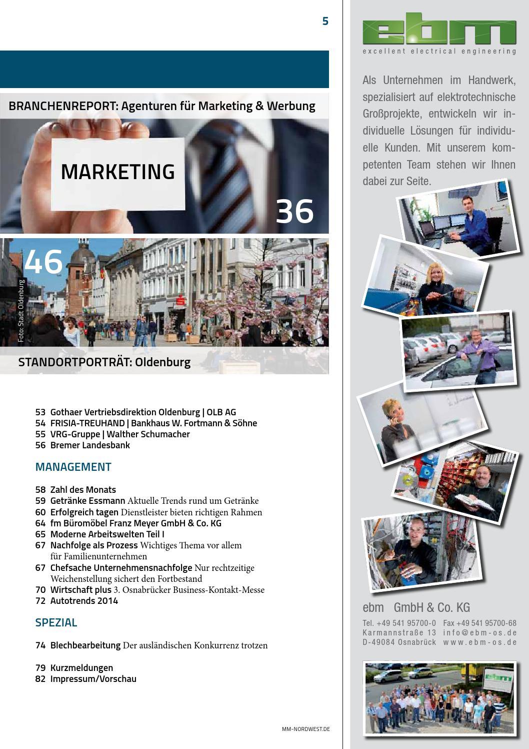 Management & Mittelstand Nordwest   Ausgabe 2-2014 by Verlag - issuu