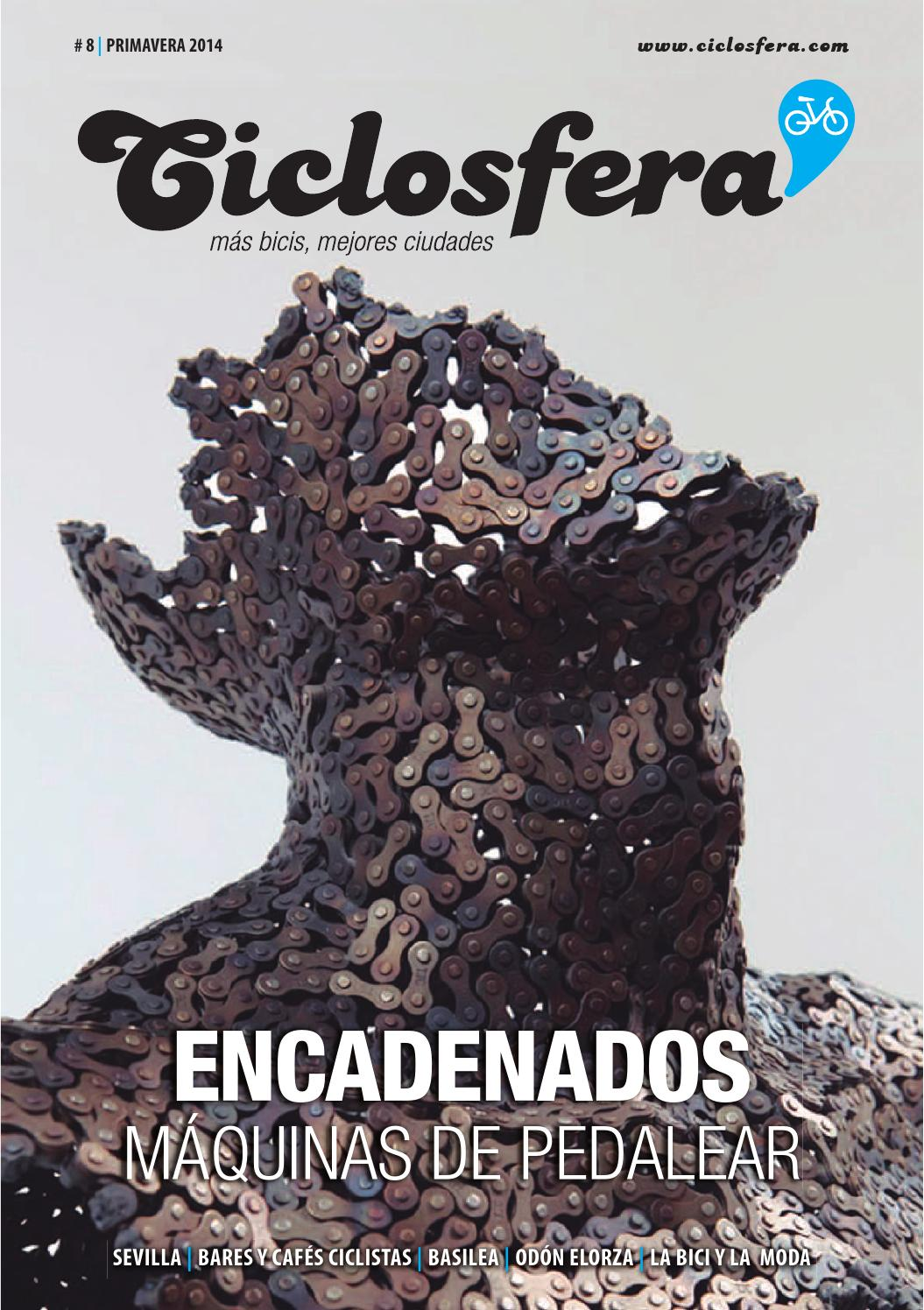 Ciclosfera #8 Primavera 2014 by Revista Ciclosfera - issuu