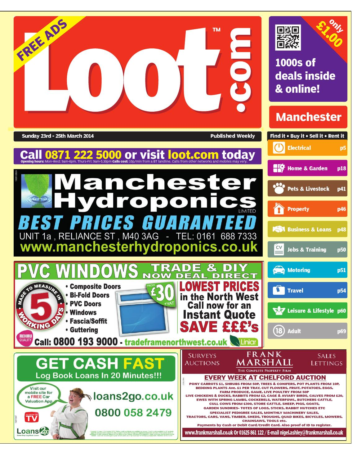 4a3a1e63b91 Loot Manchester