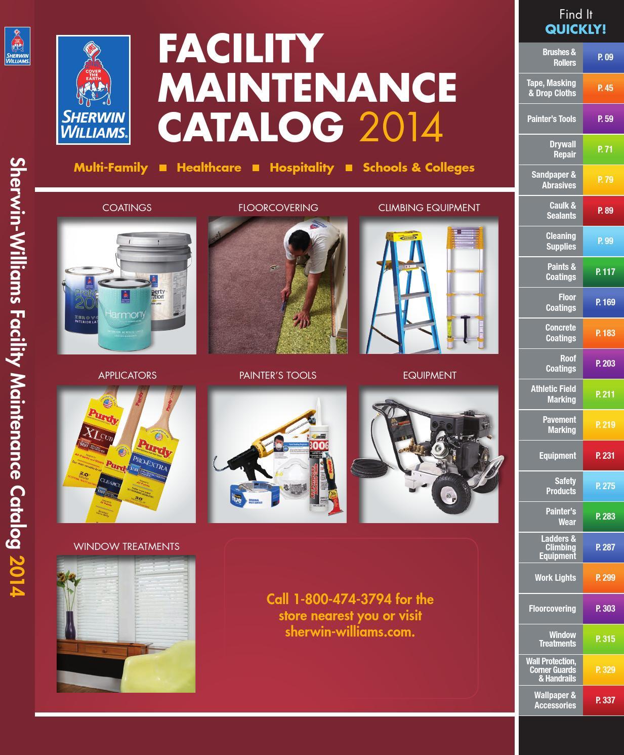 Facility maintenance catalog 2014 by sherwin williams issuu nvjuhfo Images