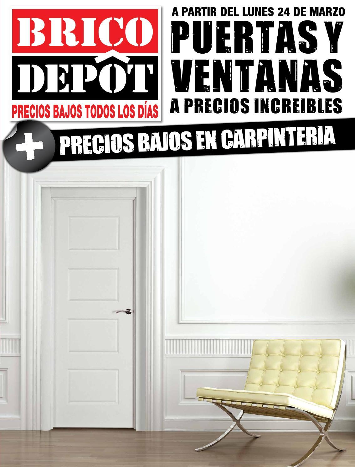 Especial puertas y ventanas toledo by losdescuentos issuu - Puertas de armarios de cocina en brico depot ...