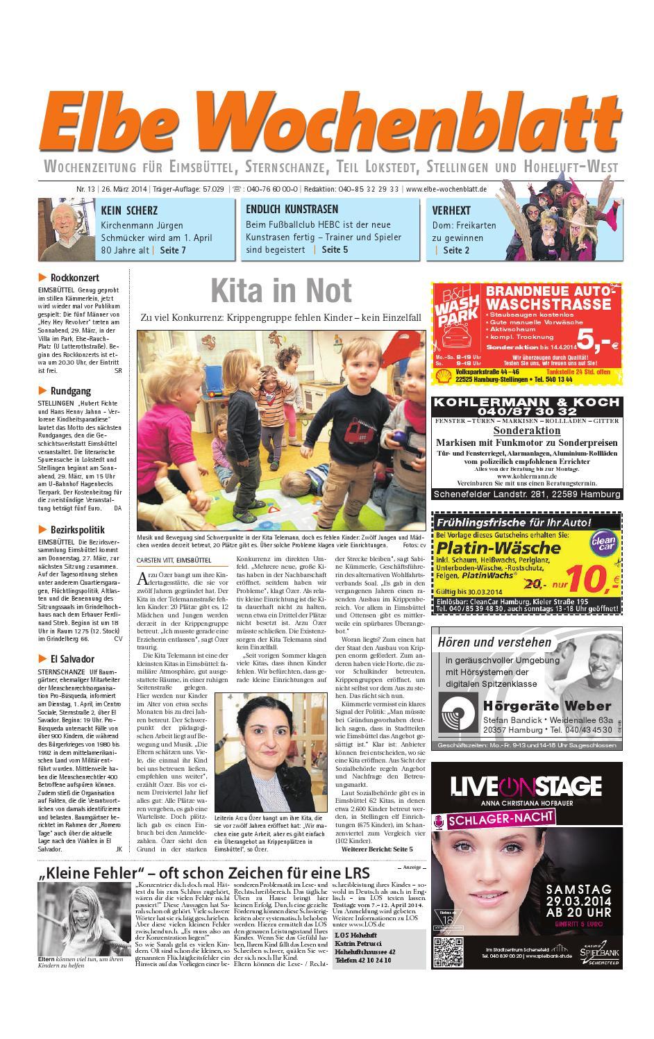 Eimsb Ttel Kw13 2014 By Elbe Wochenblatt