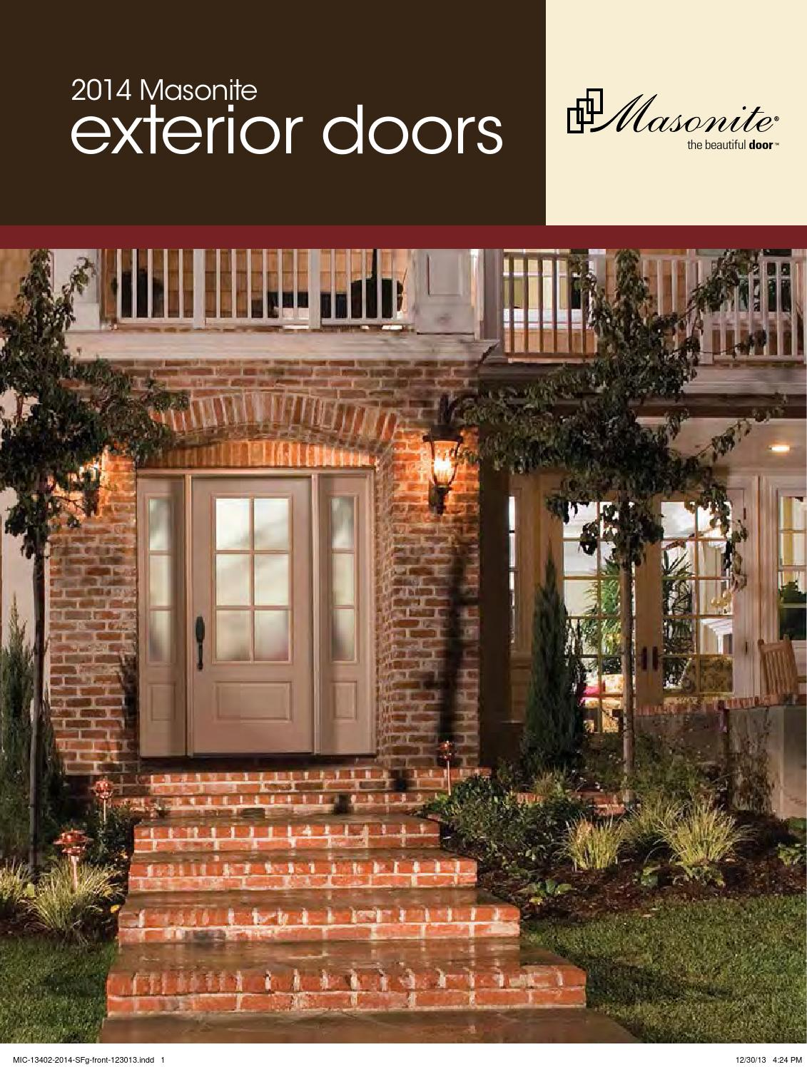 2014 Masonite Exterior Door Catalog By Meek Lumber Company   Issuu