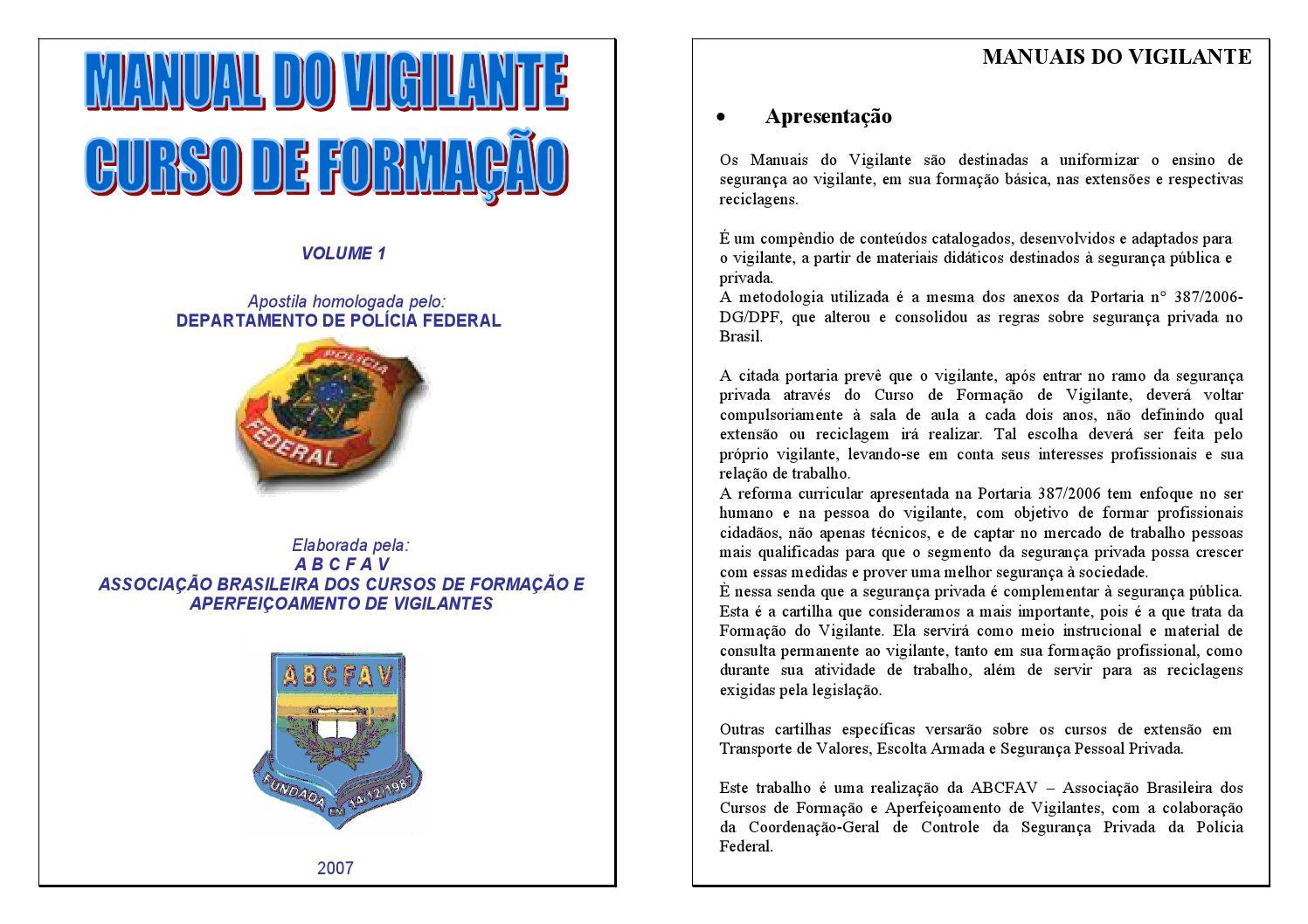 7661e7684b4 Manual do vigilante (11)98950 3543 by vigilância portaria - issuu